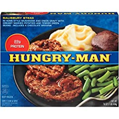 Salisbury Steak meal complete with sides, 16 oz. (pack of 8)