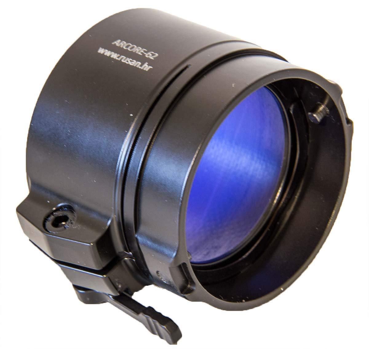 Rusan Adapter für Pulsar Vorsatz Wärmebildgeräte und Nachtsichtgeräte, einfache Montage auf Ferngläser, Spektive und mehr