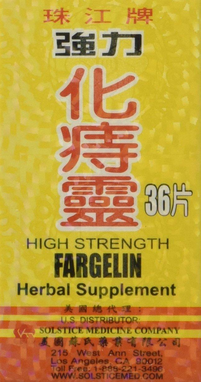 High Strength Fargelin 36 Tablets - 3 PAK by yang cheng: Amazon.es: Salud y cuidado personal