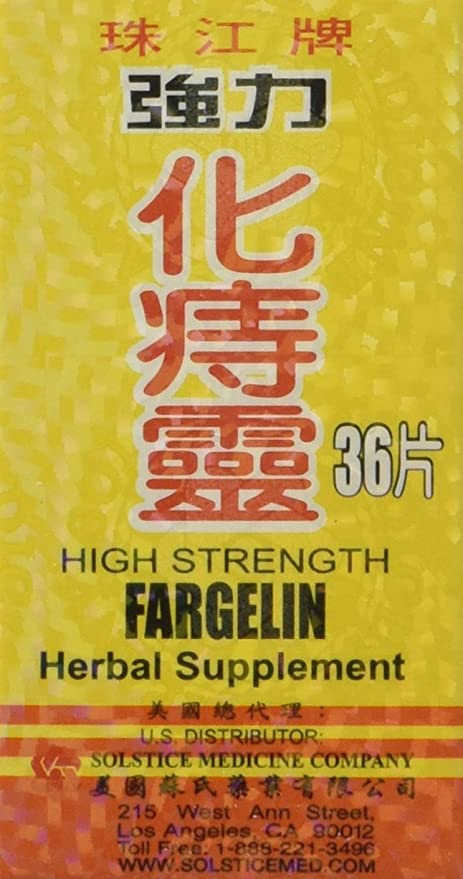 High Strength Fargelin 36 Tablets - 3 PAK by yang cheng
