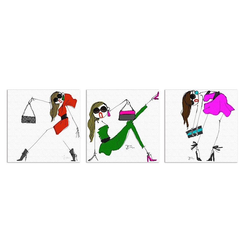 【アートデリ】 Daichi Miuraのファブリックパネルセット dai-0001_0002_0003 dai-0001_0002_0003 B00OPL2XXW