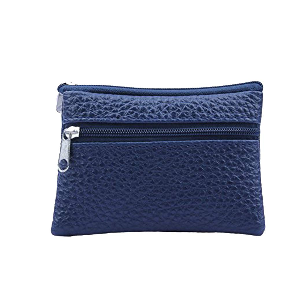 Women Men Leather Wallet...