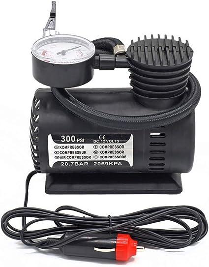 Anfay Reifen Aufpumpen Kompressor Auto Reifenpumpe Tragbaren Elektrische 12v Dc 300 Psi Für Fahrrad Reifen Bälle Schwimmringe Spielzeug Etc Aufblasbare Sport Freizeit