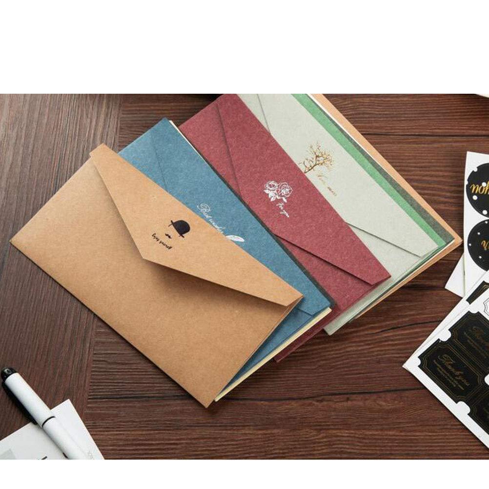 12 Pezzi per Foglio Toyvian 10 Fogli di Adesivi di Ringraziamento con Etichetta Adesiva di Ringraziamento per confezionare a Mano