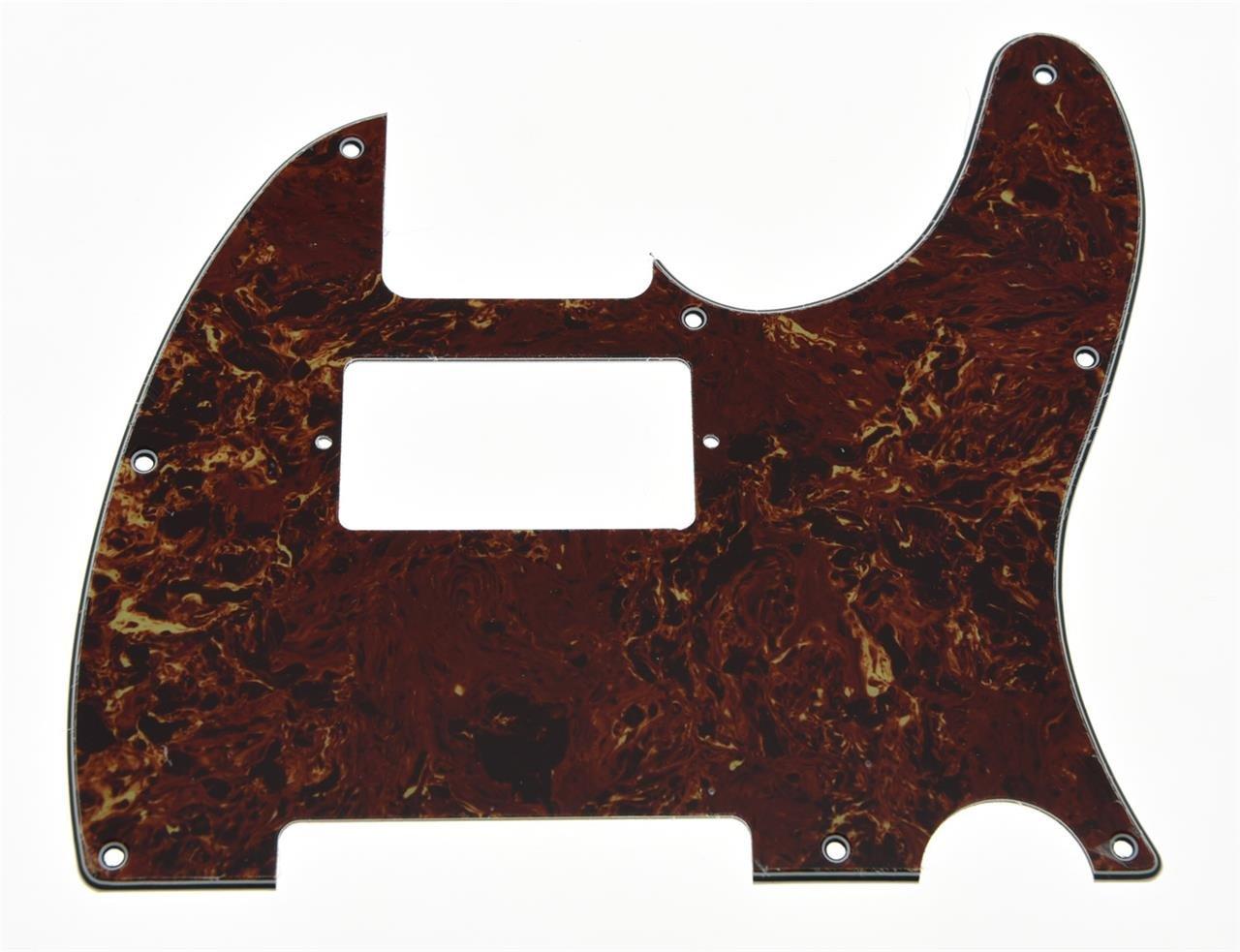 kaish Vintage tortuga tele pastilla Humbucker para guitarra el/éctrica guitarra Golpeador ara/ñazos Placa para Fender Telecaster