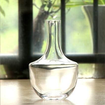 Gran dispensador vientre jarra de vino enfriador de vidrio jarra de agua jarra de leche jugo