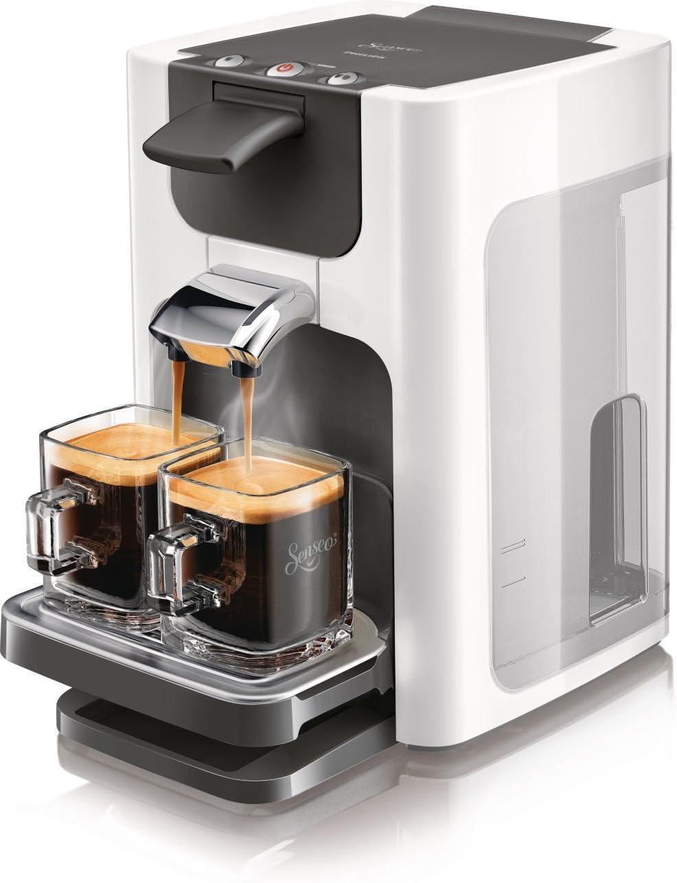 Philips Senseo Quadrante - Cafetera monodosis, color blanco (importada): Amazon.es: Hogar