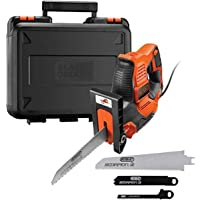 BLACK+DECKER Scorpion Powered Hand Saw with Autoselect Technology, 500 W