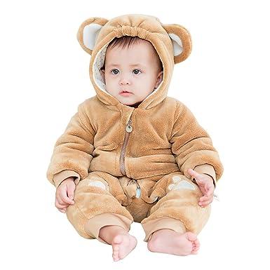 180f108fc Amazon.com  mikistory Infant Romper Newborn Unisex Costume for Baby ...
