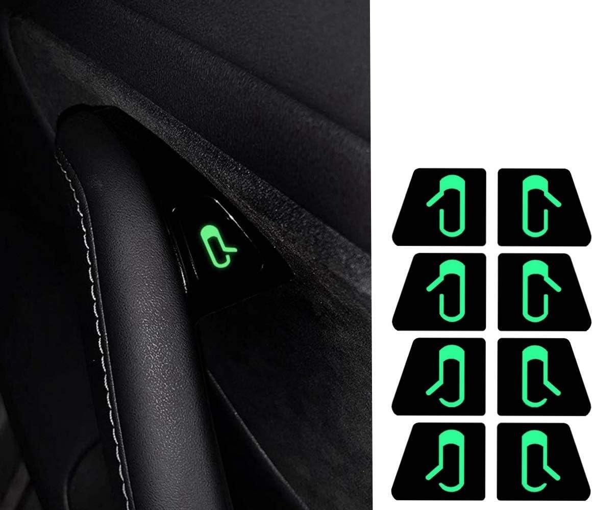 Tesla Model 3//Y Open Door Button Stickers 2021 Version