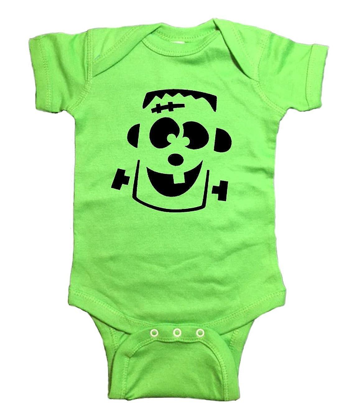 Halloween One Piece Frankenstein Baby Bodysuit
