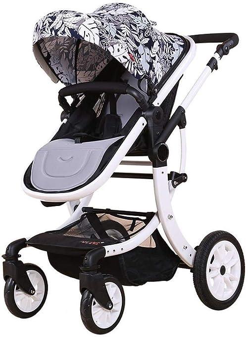 TZZ Cochecito de bebé ligero de alta Ver carro Cochecito de bebé ...