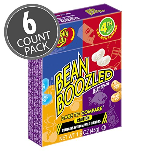 led Jelly Beans 1.6 oz Box (4th edition) (6 Pack) (1.6 Ounce Boxes)