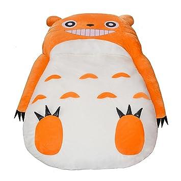 hj Sofá Perezoso Saco de Dormir sofá Doble Simple de Dibujos Animados pequeños colchón Tatami colchoneta