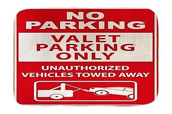 Cama Perro Coches Vintage Estacionamiento prohibido impreso ...
