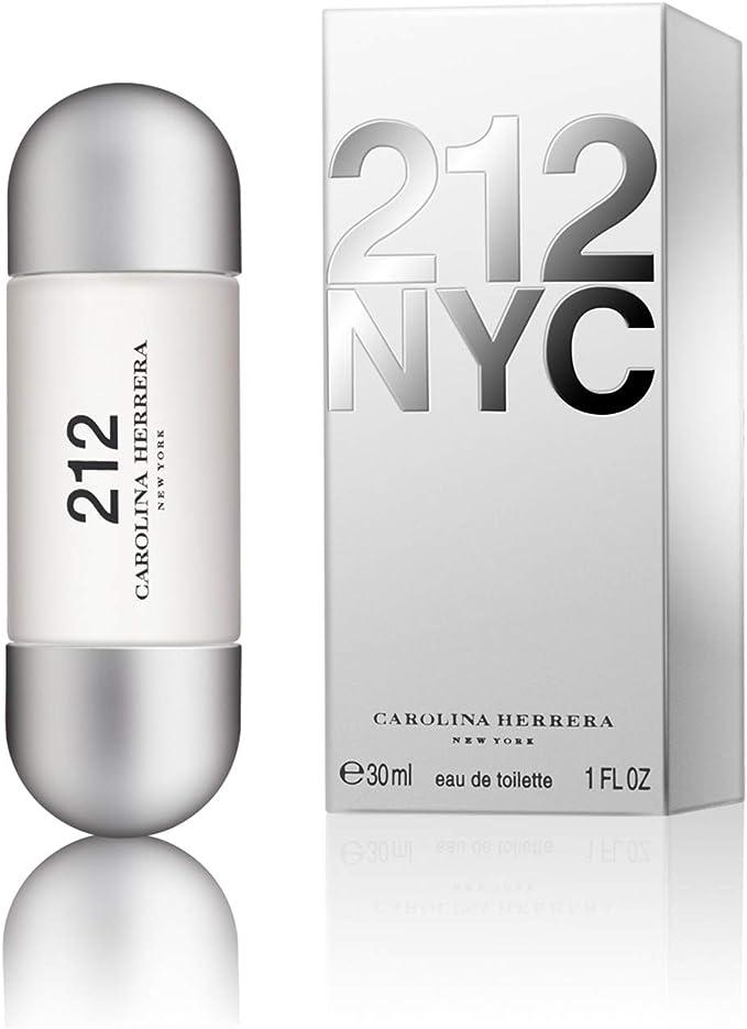 Carolina Herrera 212 Agua de Tocador Vaporizador - 30 ml: Amazon.es: Belleza