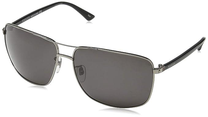 d53a01abe0c Gucci Men s GG0065SK 001 Sunglasses