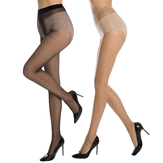Used European Pantyhose Stockings Sheer