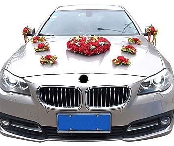 Amazon.com Icegrey Bouquet Car Decoration Artificial