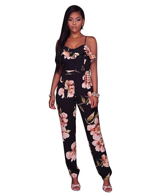 78df343d78 Women Girls Hot Sale Summer Maxi Sexy Strap Deep V-neck Backless Slim Fit  Romper