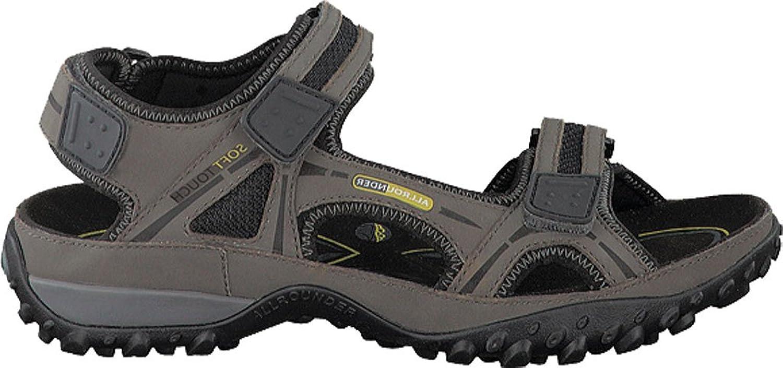 Allrounder by Mephisto Men's Regent Active Sandal Anthracite Tech Nubuck  Size 10 M: Amazon.ca: Shoes & Handbags
