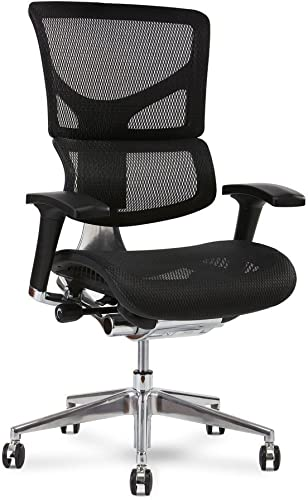 X Chair Office Desk Chair Black K-Sport Mesh