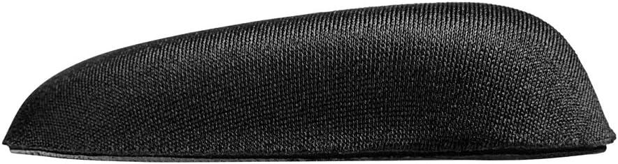 Sharkoon SHARK ZONE WR10 ergonomica in gommapiuma-superficie con Memory-effetto nero