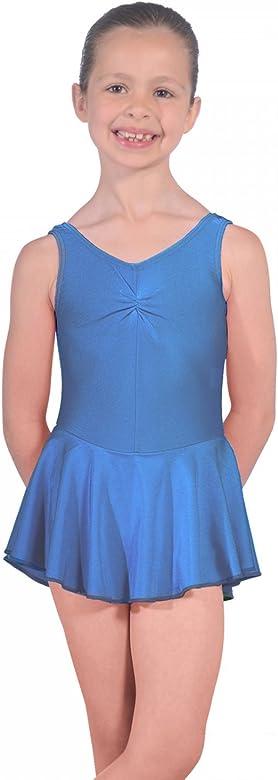 Roch Valley ISTDJ - Maillot de licra con falda azul azul real ...
