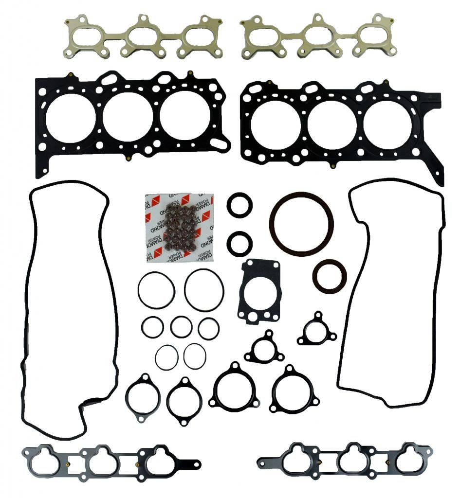 Diamond Power Full Gasket Set works with Suzuki Grand Vitara XL-7 2.7L DOHC V6 H27A 24V 2006-07 by Diamond Power