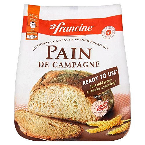 Francine Pain de Campagne French Country Bread Mix (500g) (Cake Chocolate 500g)