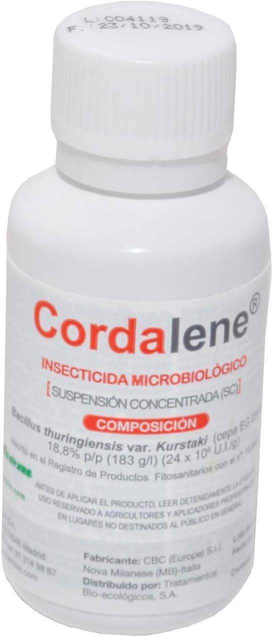 CULTIVERS Bacillus Thuringiensis kurstaki 32 wg de 30 ml. Insecticida Biológico contra Orugas. Ideal para Todo Tipo de Verduras y Hortalizas. Tratamiento Ecológico