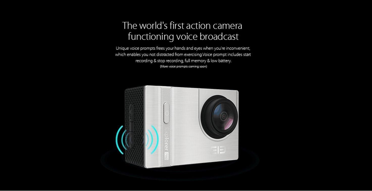 Elephone ELE Cam Explorer - Cámara de deportes y acción resistente ...