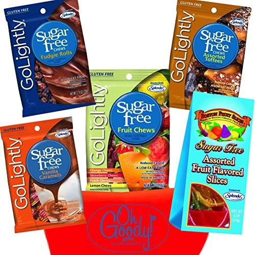 Splenda Sweetened Sugar Free Candy Gift Set Bundle