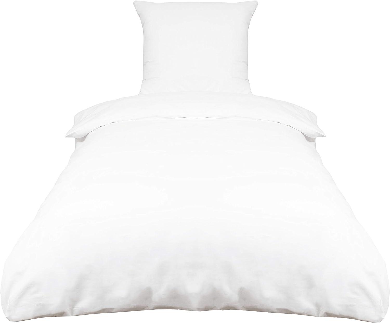 ZOLLNER Juego de Funda nórdica Blanca, 100% algodón, Cama 90, Otras Medidas: Amazon.es: Hogar