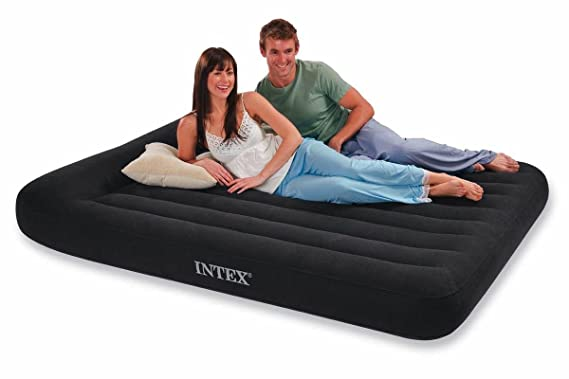 INTEX - Colchón hinchable pillow rest & almohada, 137 x 191 x 23 cm (66780): Amazon.es: Hogar