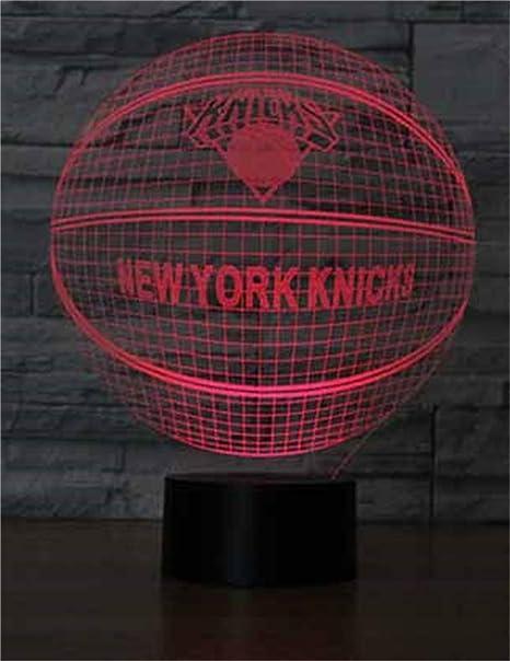 Thunder Basketball Team 3D Night Light / Luces decorativas LED, 7 ...