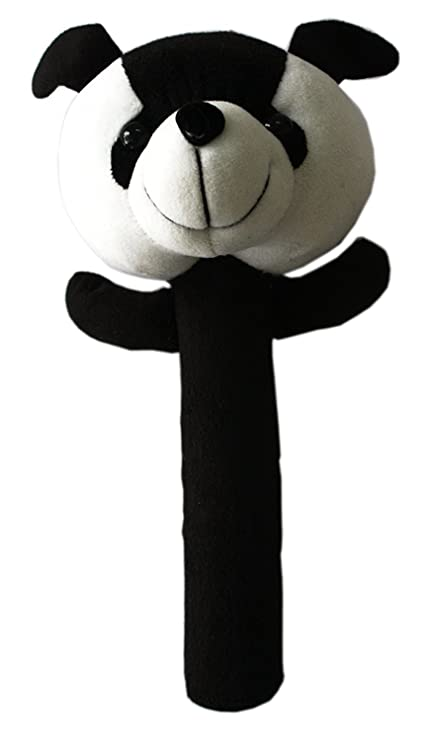 Buy Baby Soft Toys Black Panda Rattles For Baby Boy Girl