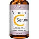DOUBLE SIZED (2 oz) PURE VITAMIN C SERUM FOR FACE 20% With Hyaluronic Acid - Anti Wrinkle, Anti Aging, Dark Circles, Age Spot