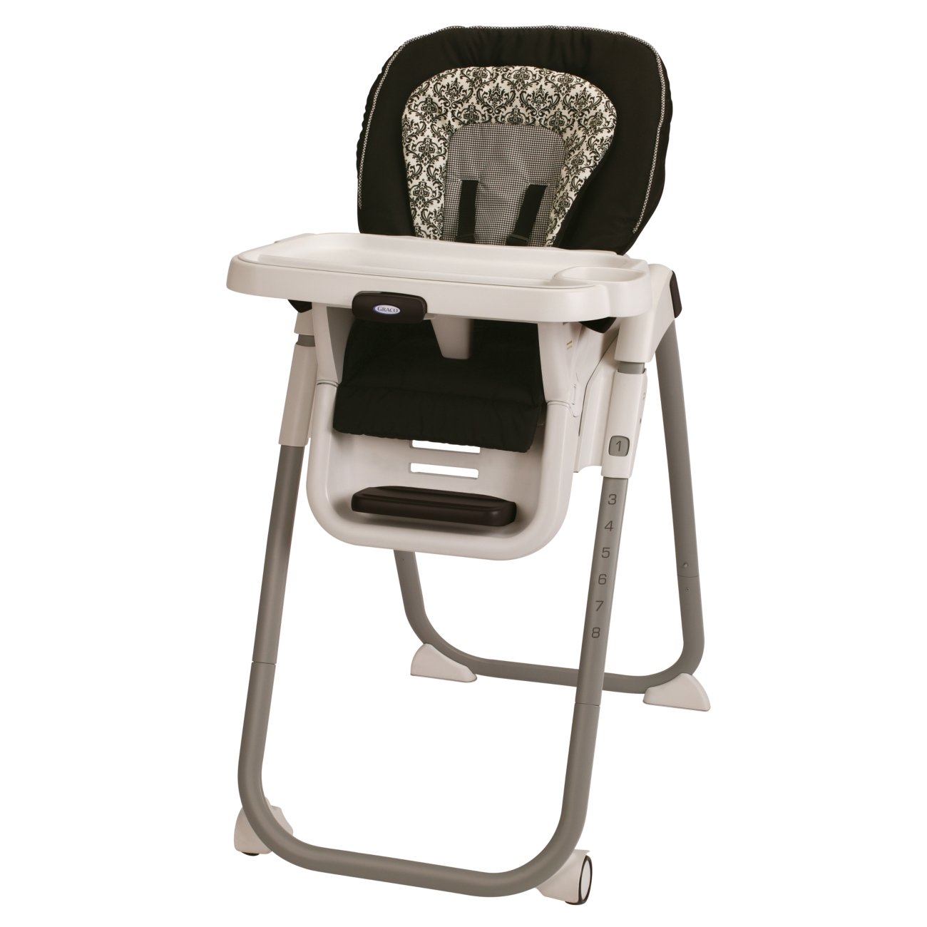 Graco TableFit Rittenhouse High Chair, Black/White 1852649