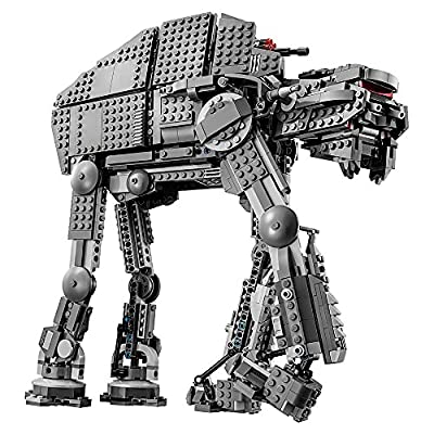 LEGO Star Wars Episode VIII First Order Heavy Assault Walker 75189 Building Kit (1376 Piece): Toys & Games