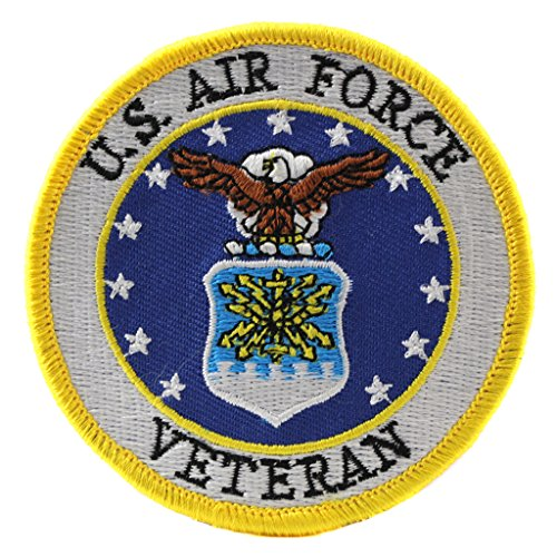 US Air Force Veteran Patch Military Gifts Patches for Jackets Hats Vests