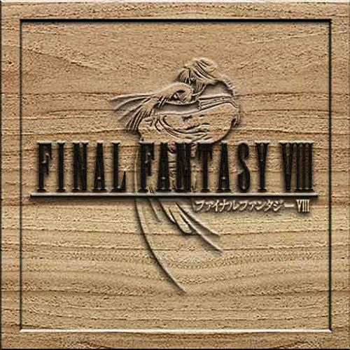 (Final Fantasy VIII 8 3D Solid Wood Craving Wall Decoration Medium Square)