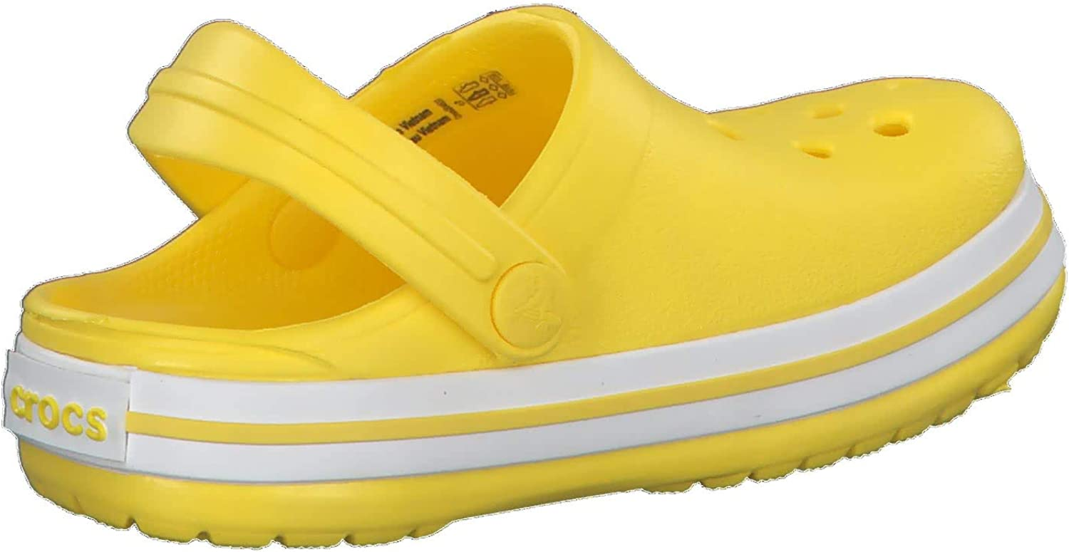 Crocs Kids Crocband Clog Slip On Shoes for Boys and Girls Water Shoes