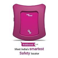 Trakbond Trail Wearable Safety Locator|GPS Tracker for Kids(Kids, Mystique Magenta)