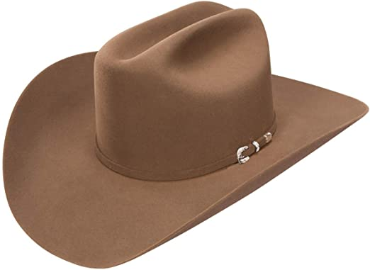 Stetson 5X Lariat Black Felt Cowboy Hat