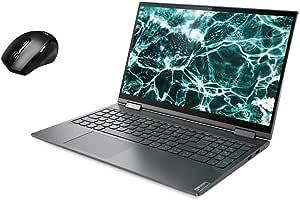 "Lenovo Yoga C740 2-in-1 15.6"" FHD Widescreen LED Multi-Touch Premium Laptop Bundle Woov Mouse | 10th Gen Intel Quad Core i5-10210U | 12GB RAM | 256GB SSD | Backlit Keyboard | Fingerprint | Windows 10"