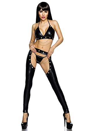 lingerie latex femme sexy