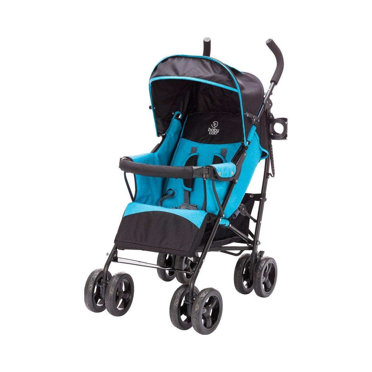 Cam Buggy Fluido Allegria blau verstellbare Sitzfläche 0 bis 36 Monate