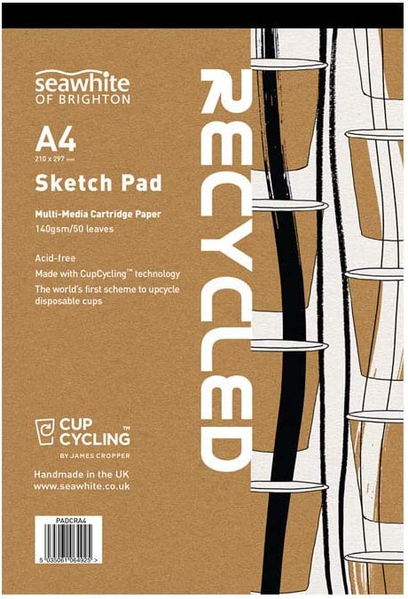 Seawhite All-Media 140gsm almohadilla de papel de cartucho