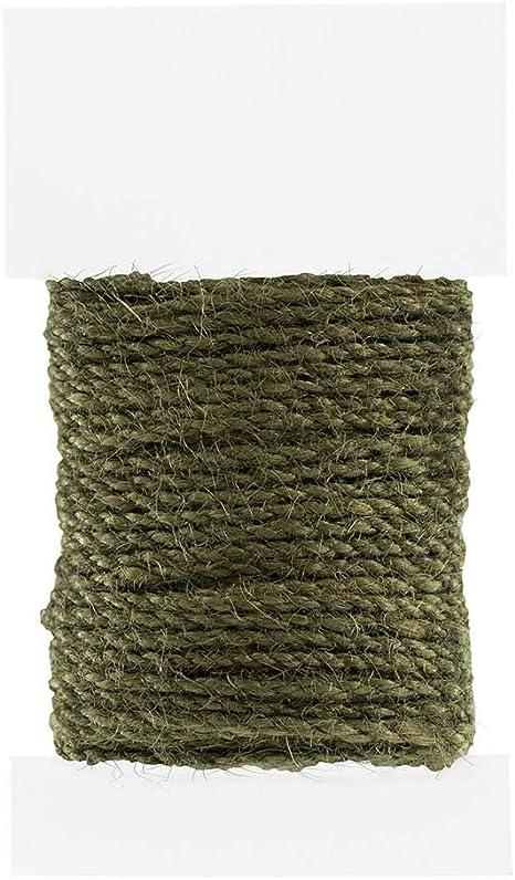 Black LWR Crafts Jute Cord 1.5mm 45ft//pack Pack of 2